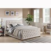 Brand New Beige Fabric Bed Frame size Double Queen King - ROYAL Craigieburn Hume Area Preview