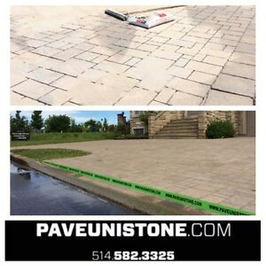 UNISTONE RELEVEL - UNISTONE CLEANING - PAVE_UNI STONE .COM - West Island Greater Montréal image 7