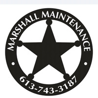 """Marshall Maintenance""  Home and Property"