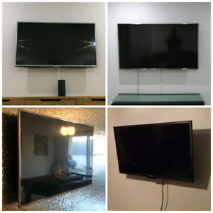 "Tv Wall installations 42-80"" including Free Bracket"