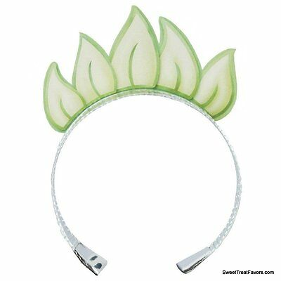 PRINCESS FROG Party Tiara Crown Supplies Favors Decoration Tiana Treats x4 Girl