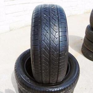 225/65/16 Yokohama AVID S33 All season 2 used tires 75%Tread left