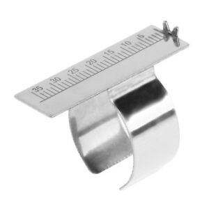 Endo Gauge Finger Ruler Span Measure Scale Endodontic Dental Instrument Ring