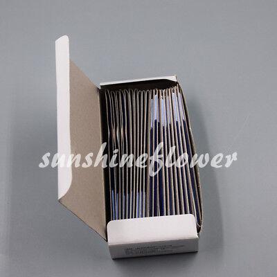 20 Books Dental Supplies Practical Articulating Soft Thin Strips Paper Blue