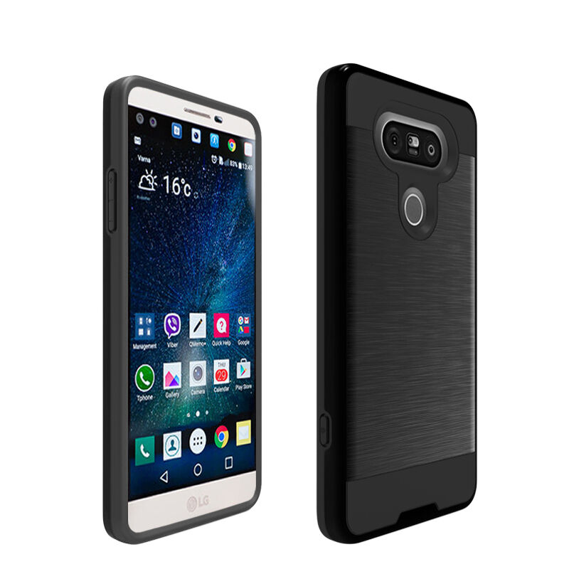 Heay-Duty Hybrid Shockproof Protective Cover Case Armor Guard Shield For LG V20