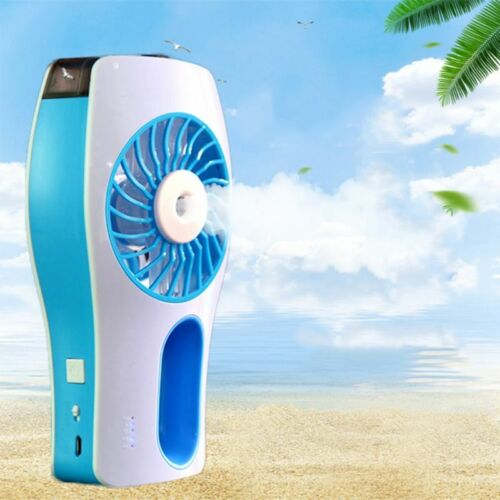 Mini USB Portable Fan Handheld Misting Fan W/ Spray Bottle S