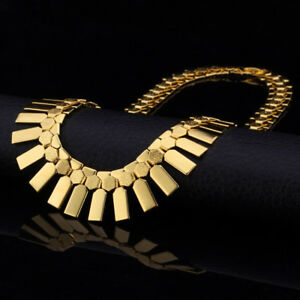 Trendy High Quality Gold Plated Choker 100% NEW