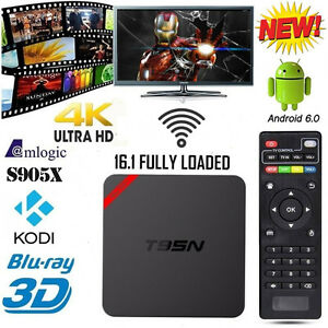 New!!! Android Tv Box with Kodi Fully Loaded