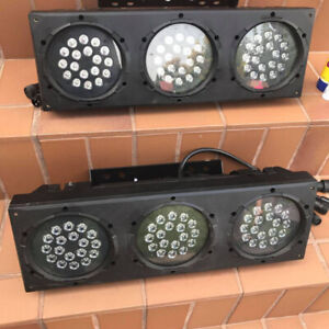 2 CHAUVET PROFESSIONAL COLOR ado 3p IP LED Light Set of 2