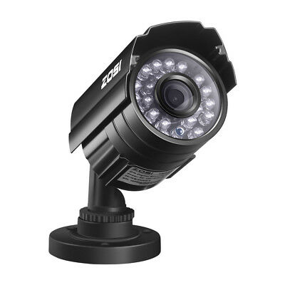 ZOSI HD 800TVL 24 IR LEDs Outdoor Day Night CCTV Security Surveillance Camera