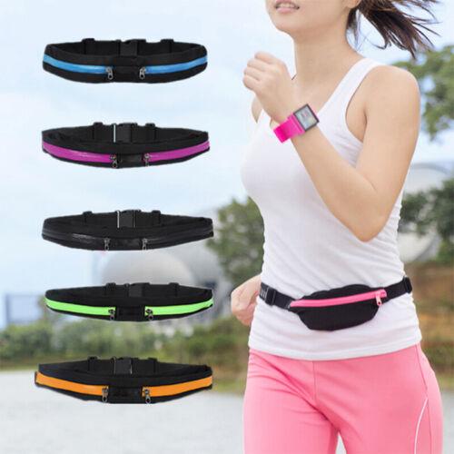 1PC Outdoor Running Belt Waist Pack Bag Pouch Men Women Fann