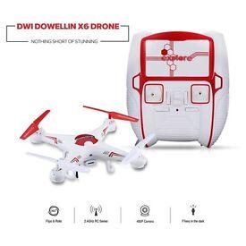 Dwi Dowellin X6C RTF 2.4GHz 4CH 6 Axis Gyro Drone RC Quadcopter 2.0MP HD Camera