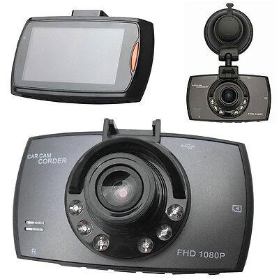 "HD 2.4"" LCD 1080P Car DVR Vehicle Camera Video Recorder Dash Cam Night Vision UP"