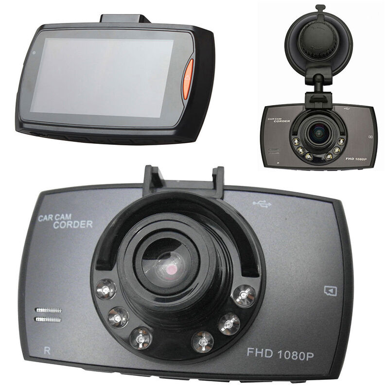 "HD 2.7"" LCD 1080P Car DVR Vehicle Camera Video Recorder Dash Cam Night Vision UP"