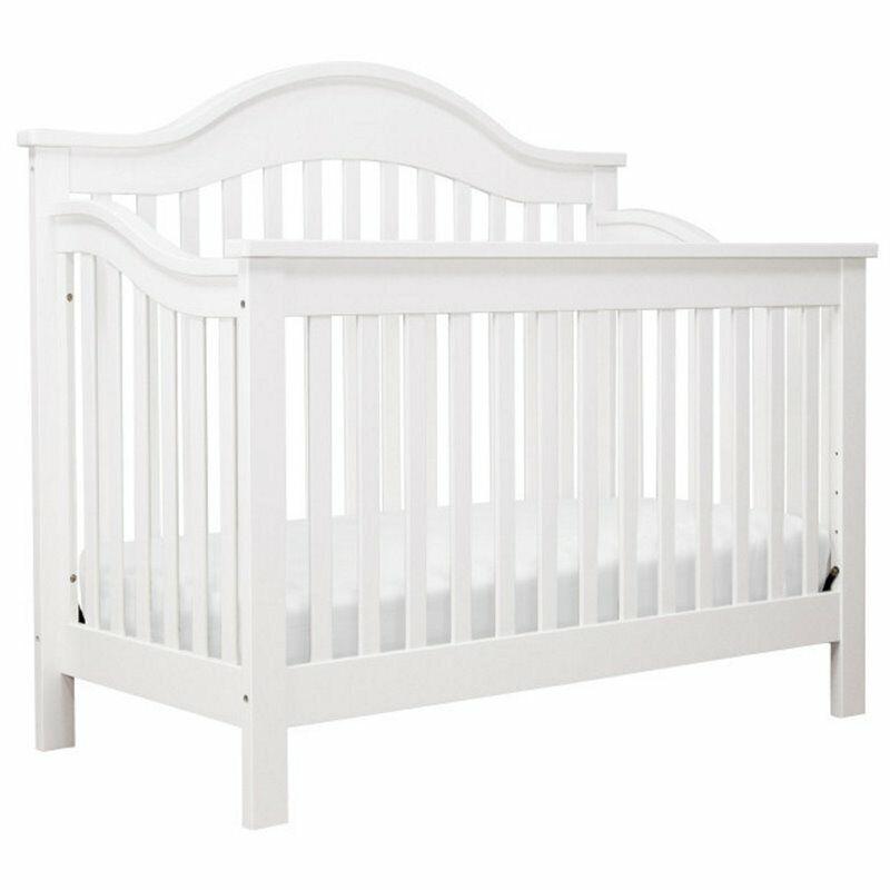 DaVinci Jayden 4-in-1 Convertible Crib in White