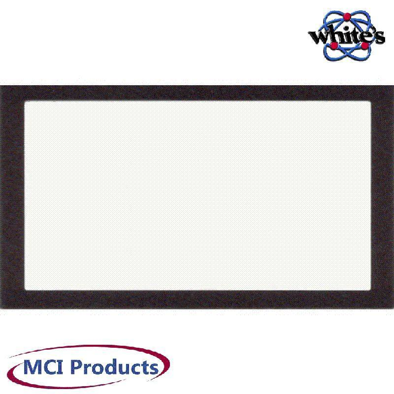 Whites XLT & DFX Metal Detector Window LCD Clear Protective Decal 624-0301