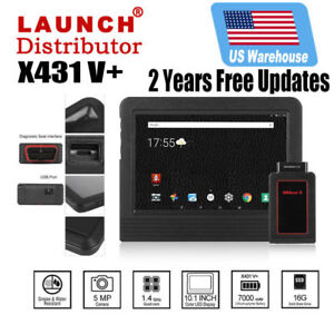 LAUNCH X431 V+ ScanPad Auto Diagnostic Scanner Scan Tool pro3 Key Programming