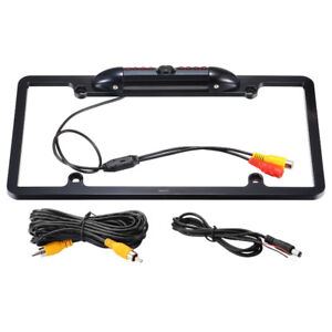 car rear view monitor and licence plate camera 5 inch display