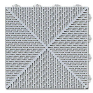 Bergo Soft 1.24 ft. x 1.24 ft. Polyethylene Deck Tiles
