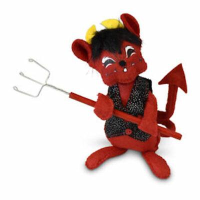 Annalee Dolls 2019 Halloween 6in Devil Mouse Plush New with Tags](Annalee Dolls Halloween)