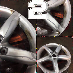 WHEELS/RIMS::DAMAGED?WHY REPLACE?SUPER SPECIAL 15% OFF !!!