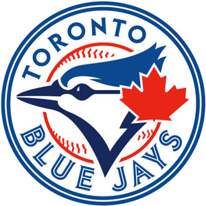 4 BLUE JAYS HOME OPENER SEC 115 115L ROW 20 SIDE BY SIDE