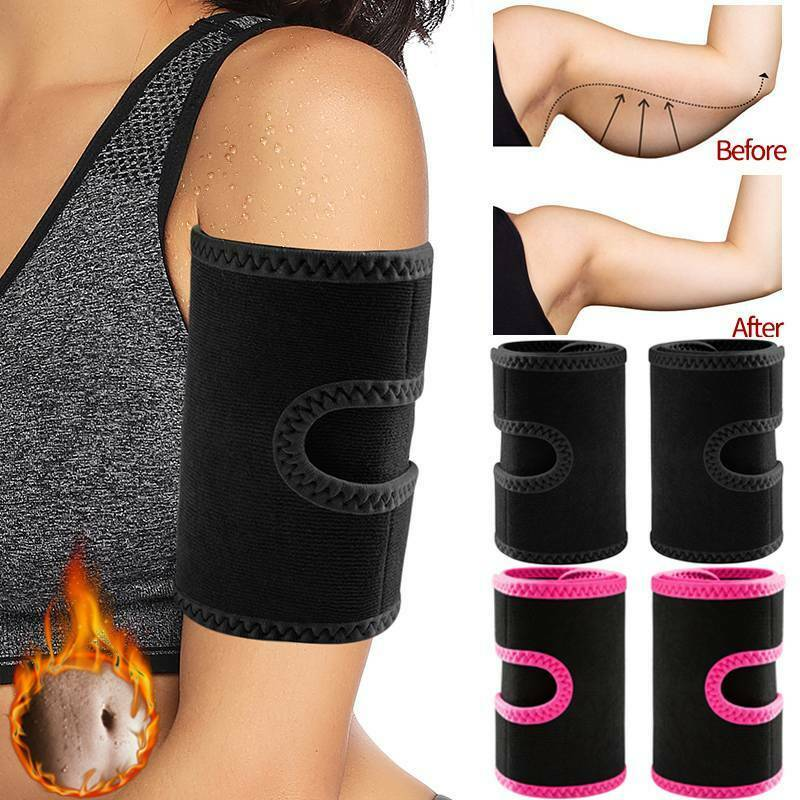 New Arm Trimmers Sauna Sweat Band for Women Sauna Effect Arm