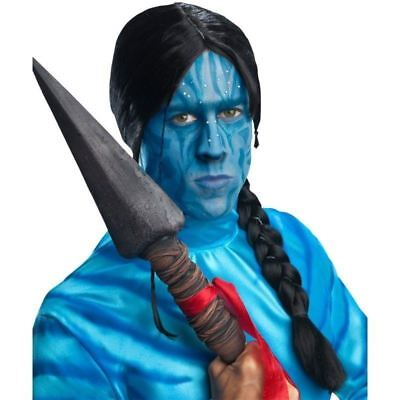 DISNEY AVATAR MOVIE JAKE SULLY WIG BRAIDED DRESS UP COSTUME COSPLAY INDIAN NEW - Sully Dress Up