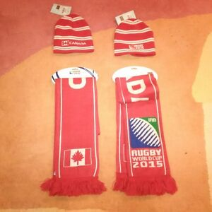 Offical Canada Rugby World Cup Toque and Scarf Set