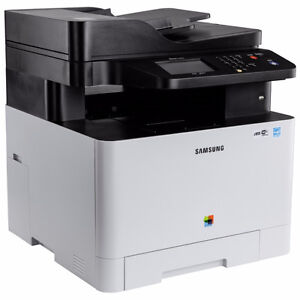 Selling a Samsung C1860 Colour Laser Printer (used) + 4 Toners
