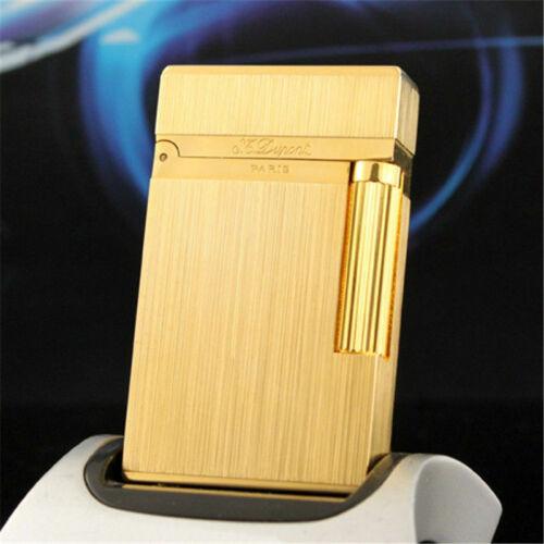New style S.T Dupont lighter Memorial  Bright Sound golden lighter