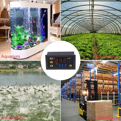 12v 110-220v Led Digital Temperature Controller Temp Sensor Thermostat Control