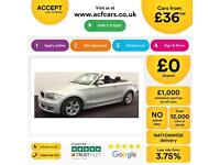 BMW 118 2.0TD 2009MY d SE FROM £36 PER WEEK!