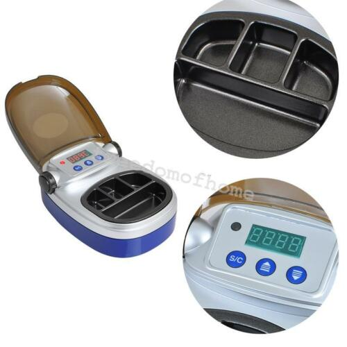 Dentist Dental Lab Equipment Analog Digital Wax Heater Melting Pot 4-well Pot