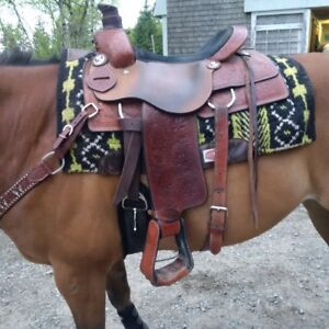 16in Double T Roper Saddle