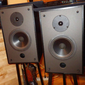 ***PAIRE D'ENCEINTES IMAGE SPEAKERS***MADE IN CANADA***