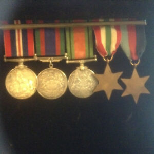 WW2 Canadian RCAF 5 Medal Group