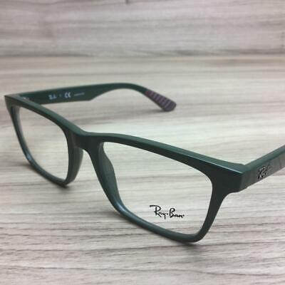 Ray Ban RB7025 RB 7025 Eyeglasses Military Green 5420 Authentic (Ray Ban Military)