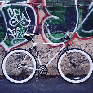 Fixed gear or single speed road bike