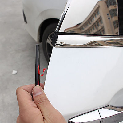 AUTO Universal ACCESSORIES Car Door Edge Rubber Scratch Protector Strip DIY New for sale  China