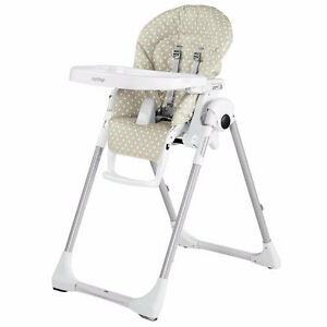 Peg Perego Prima Pappa Zero 3 High Chair, Baby Dot Lilac