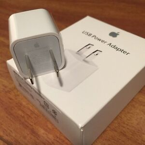 GENUINE APPLE USB WALL CHARGER ADAPTER FOR IPHONE, IPOD, IPAD Regina Regina Area image 5