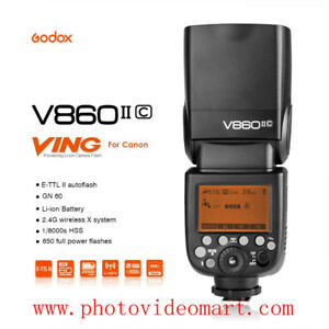 Godox V860II C HSS 1/8000s TTL Speedlite Flash GN60  for Canon