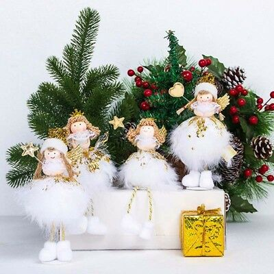 Christmas Table Decoration (Christmas Angel Doll Toy Decoration Home Xmas New Year Gift Table Shine)