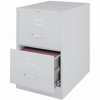 Pemberly Row 2 Drawer Legal File Cabinet In Gray