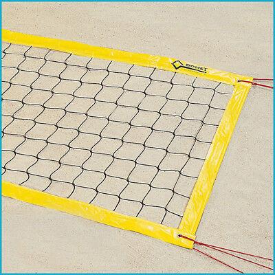 Beachvolleyball Beach Volleyball Turniernetz Turnier Netz, 9,5 x 1,0 m, Gelb