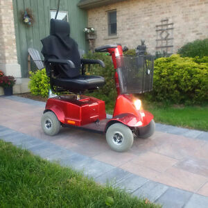 Handicare Fortress 1700 DT scooter (4-wheel) asking $1200 O.B.O.