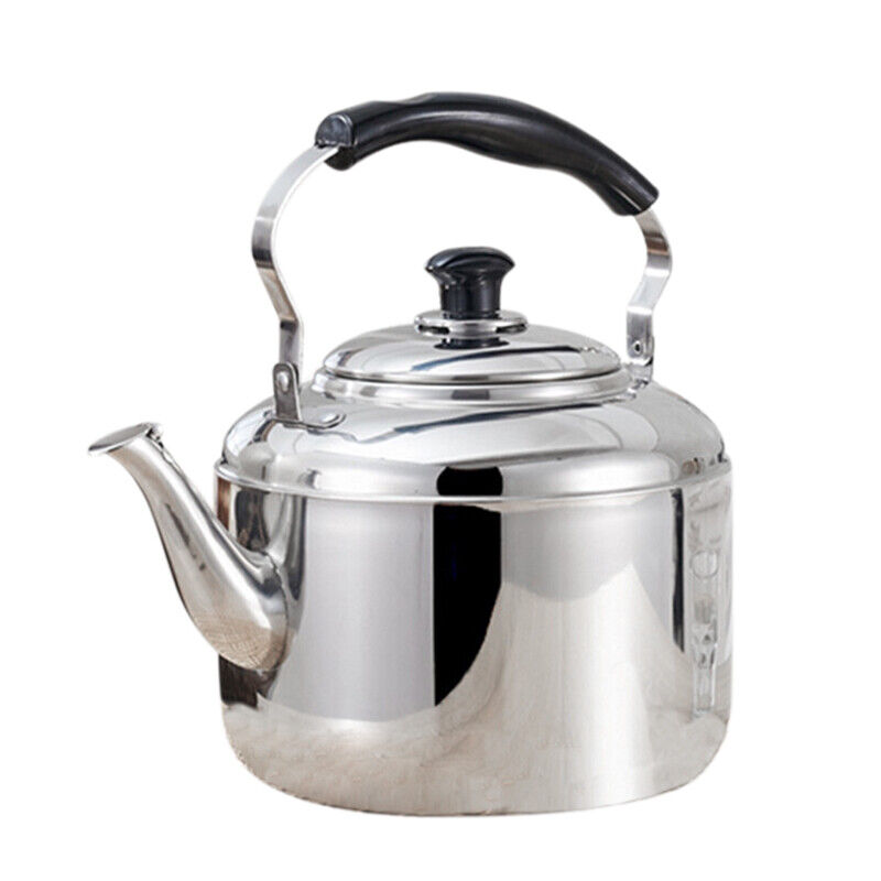 Stainless Steel Kettle Whistling Tea Kettle Coffee Kitchen Stovetop Induction