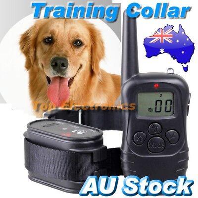 2018 New 300M Range Anti-Bark Dog Pet Training Collar Remote Control Waterproof