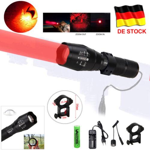 Rotlicht Grünlicht Jagdlampe Grünlicht Jagd Taschenlampe Set Akku Fernschalter
